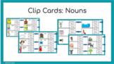 Digital Clip Cards: Nouns