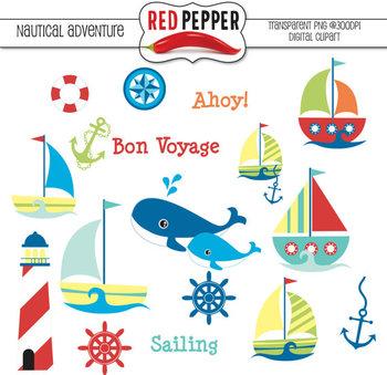 Clipart - Nautical Adventure