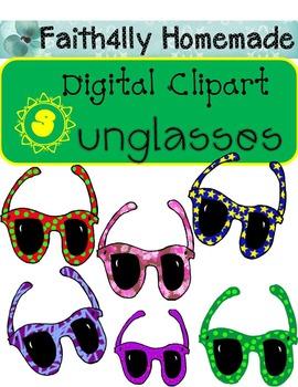 Digital Clipart_Sunglasses