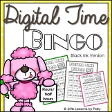 time to the hour and half hour {Bingo}