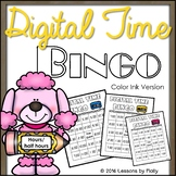 Telling Time to the Hour and Half Hour {Bingo}