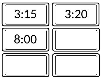 Digital Clock for Classroom Schedule