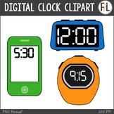 Digital Clocks Clipart