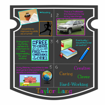 Digital Coat of Arms - Back to School  - Digital Badging