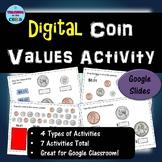 Digital Coin Values  Activity - FREEBIE!