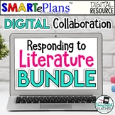 Digital Collaborative Literary Analysis Bundle for Fiction