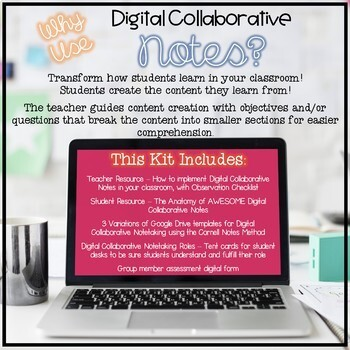 Digital Collaborative Notes Kit (for Google Drive)