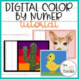 Digital Color By Number Tutorial: Make Your Own