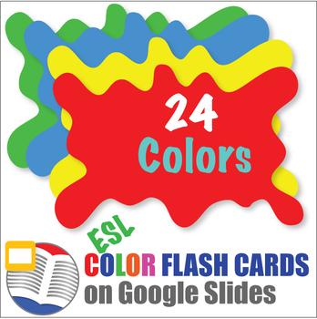 Digital Color Flash Cards
