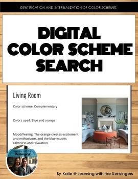 Digital Color Scheme Search