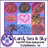 Art: Digital Colorful Photo POP BACKGROUNDS: Commercial &