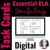 Digital Common Core Vocabulary Task Cards