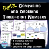 Digital Comparing and Ordering Three-digit Numbers | Dista