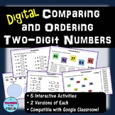 Digital Comparing and Ordering Two-digit Numbers | Distanc