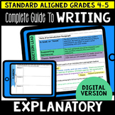Digital Complete Guide to Explanatory Writing Gr 4-5 (Goog