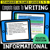 Digital Complete Guide to Informational Writing Gr 4-5 (Go