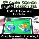Digital Complete Lesson - 5th Earth's Rotation and Revolut