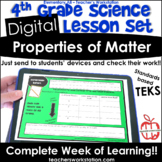 Digital Complete Lesson Set - 4th Grade Properties of Matt