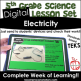 Digital Complete Lesson Set - 5th Electricity and Circuits