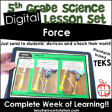 Digital Complete Lesson Set - 5th Force DISTANCE LEARNING