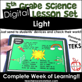 Digital Complete Lesson Set - 5th Light DISTANCE LEARNING