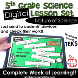 Digital Complete Lesson Set - Nature of Science DISTANCE LEARNING