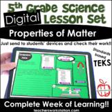Digital Complete Lesson Set - Properties of Matter DISTANC