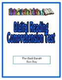 Digital Comprehension Test (Google Docs) - The Bald Bandit