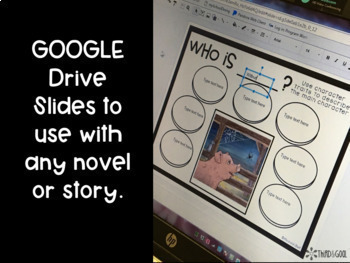 GOOGLE Drive Comprehension Worksheets and Graphic Organizers