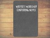 Digital Conferring Notebook - Writing