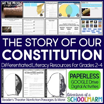 Digital Constitution Day - Constitutional Convention, Bill of Rights, 3 Branches