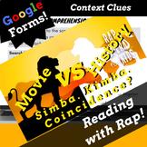 Digital Context Clues Google Classroom Reading Passage Usi