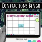 Digital Contractions Grammar Bingo Game {Google Slides}