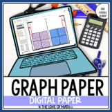 Digital Coordinate Plane Pages for Google Drive™