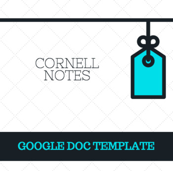 Digital Cornell Notes Template