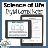 Digital Cornell Notes for Biology- Biogenesis and Spontane