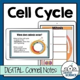 Digital Cornell Notes for Biology- Cell Cycle - Mitosis an