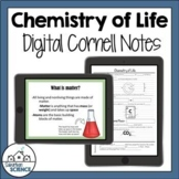 Digital Cornell Notes for Biology - Chemistry of Life - Ma