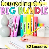 Digital Counseling & SEL Activities for Distance Learning BUNDLE