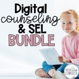 Digital Counseling SEL BUNDLE of 32 Lessons In-Person & Di