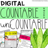 Digital Countable and Uncountable Nouns-Distance Learning-