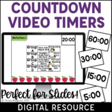 Digital Video Countdown Timers