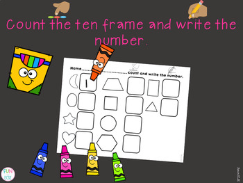 Digital Counting and Number Identification 1-10