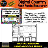 Digital Country Fast Facts (Spanish Version) - Google Dist