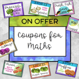 Digital Coupon Clipart for Problem Solving in Maths