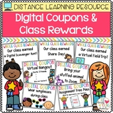 Digital Coupons and Class Rewards for Distance Learning