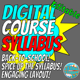 Digital Course Syllabus Template