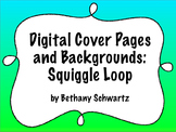 Digital Cover Page and Background: Squiggle Loops