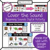 "Digital ""Cover the Sound"" Alphabet Beginning Sounds Intera"