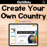Digital Create Your Own Country Flipbook - Google Slides Activity